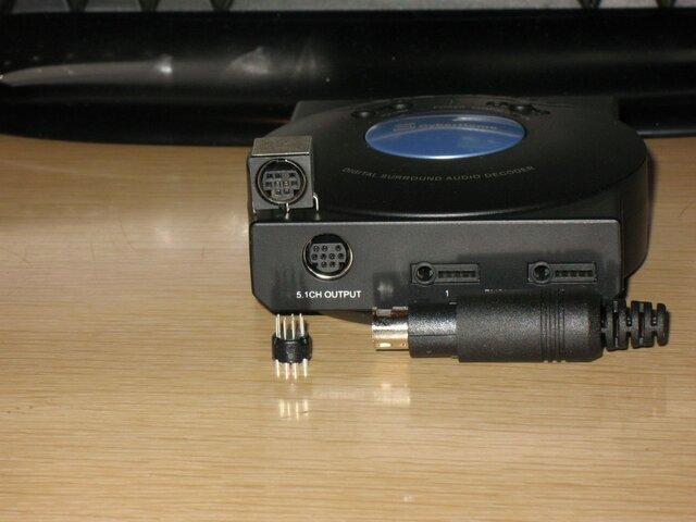Cyberhome 5.1 AC3 decoder & Klipsch plug 005.jpg